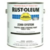 Rust-Oleum 2391402 Traffic Zone Striping Paint, White, 1 gal