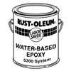 Rust-Oleum 5392 Paint and Activator, White, Epoxy