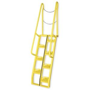 Vestil Alternating Tread Stairs, WalkThru, 8 ft.H at Sears.com
