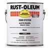 Rust-Oleum 215759 2500 Alkyd Enamel, Black, 1 gal.