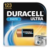 Duracell DL123ABPK Battery, 123, Lithium, 3V