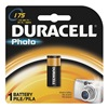 Duracell DLCR2BPK Battery, CR2, Lithium, 3V