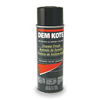 Dem-Kote 1VKA2 Spray Paint, Black, 10 oz.