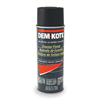 Dem-Kote 1VKA3 Spray Paint, Black, 10 oz.