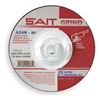 United Abrasives-Sait 20160 Depressed Ctr Whl, T27, 4.5x1/4x5/8-11, AO