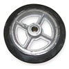 Wesco 108839 Wheel, 6 1/2x1 1/2 In, Mold On Rubber
