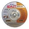 United Abrasives-Sait 22130 Depressed Ctr Whl, T27, 4.5x1/8x5/8-11, AO