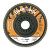 Weiler 50004 Arbor Mount Flap Disc, 4-1/2in, 80, Medium