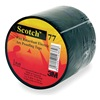 3M 77 Electrical Tape, Black, 20 Ft L, 1 1/2 In W