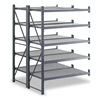Edsal INDA2703 Boltless Shelving, Dbl Strt, 50x52, 5 Shelf