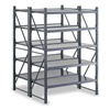Edsal INDS2702 Boltless Shelving, Dbl Strt, 52x52, 5 Shelf