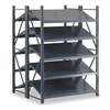 Edsal INDITS2710 Boltless Shelving, Dbl Invert Tilt, 52x48