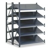 Edsal INDITA2711 Boltless Shelving, Dbl Invert Tilt, 50x48