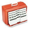 Flambeau 6763PM First Aid Storage Case, W 10 3/8, 5Drawers
