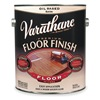 Rust-Oleum 130231 Floor Finish, Crystal Clear, Satin, 1 gal.