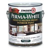 Zinsser 2771 Latex Acrylic Paint, 1 Gal, White, Eggshell
