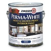 Zinsser 2711 Latex Acrylic Paint, 1 Gal, White, Satin