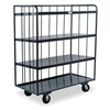 Durham OPT-3624-95 Bulk Stock Cart, 2000 lb., Gray