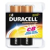 Duracell MN14RT8Z Battery, C, Alkaline, PK 8