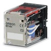 Omron MY4N-DC12(S) Relay Plug In, LED, 4PDT, 12 Coil Volts