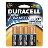 Duracell MX1500B8Z Battery, AA, Performance Alkaline, PK 8