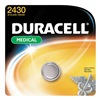 Duracell DL2430BPK Coin Cell, 2430, Lithium, 3V