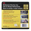 3M 4016 Mounting Tape, Multipurpose, W 3/4 In