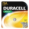 Duracell PX76A675BPK Button Cell Battery, 76A, Alkaline, 1.5V