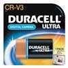 Duracell DLCRV3BPK Battery, CRV3, Lithium, 3V