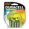 Duracell DX2400R4 Precharged Rechargeable Batteries, PK 4