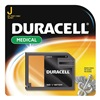 Duracell 7K67BPK Battery, J, Alkaline, 6V