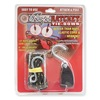 Rope Ratchet 10001 Rope Ratchet, Hook, 6 ft.L, Polyester