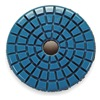 Onfloor 224154 Polishing Pad, 3 In, PK 5