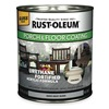 Rust-Oleum 244163 Floor Coating, 0.25 gal, Dove Gray