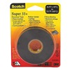 3M Super 33+ Vinyl Elec Tape, 3/4Inx44Ft, PK100