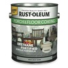 Rust-Oleum 244055 Floor Coating, 1 gal, Pewter