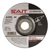 United Abrasives-Sait 20062 Depressed Center Whl, T27, 4.5x1/4x7/8, AO