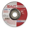 United Abrasives-Sait 20081 Depressed Center Wheel, T27, 7x1/4x7/8, AO