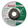 United Abrasives-Sait 20082 Depressed Center Wheel, T27, 7x1/4x7/8, SC