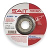 United Abrasives-Sait 20060 Depressed Center Whl, T27, 4.5x1/4x7/8, AO