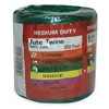 Approved Vendor 2PRR6 Jute TwIne, Green, 0.08 In, 200 Ft
