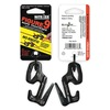 Nite Ize F9L-02-01 Rope Tightener, 3-1/2 In., Aluminum, Black
