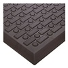 Wearwell 501.58x2x3BK Antifatigue Mat, 2 x 3 Ft, Black