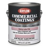 Krylon K027K21127250-16 InteriorLatex, Foundation Gray, Flat, 1gal