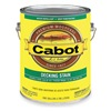 Cabot 140.0001411.007 Semi Solid Deck StainWhite, Flat, 1gal