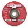 United Abrasives-Sait 20285 Depressed Center Wheel, T27, 7x1/4x7/8, AO