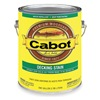 Cabot 140.0007417.007 Semi Solid Deck Stain Redwood, Flat, 1gal