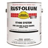 Rust-Oleum 245387 V7400 Alkyd Enamel, Flat Black, 1 gal.