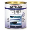 Rust-Oleum 207006 Topside Paint, Black, Alkyd