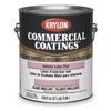 Krylon K027K21117250-16 InteriorLatex, Foundation Gray, Flat, 1gal